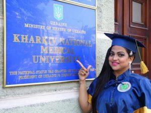 Student of Kharkiv National Medical University (KNMU) Ukraine